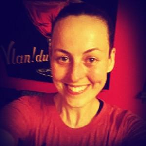 Happy, Sweaty, Post-Run Selfie!