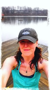 Soaked, after my run around Lake Elkhorn Friday!