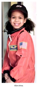 She makes such an adorable astronaut!