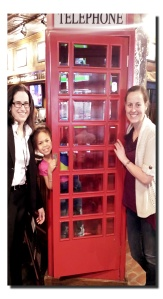 Old school phone booth replica!