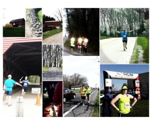 Van 1 Runners and Course Views :-)