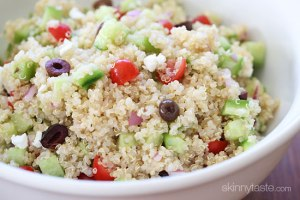Quinoa is packed with protein and good for you! (Maybe not as healthy with beer! Lol)