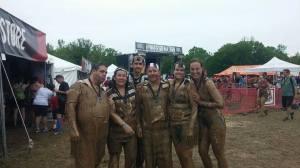 """Muddy friends, after a successful """"Prison Break"""" ;-)"""