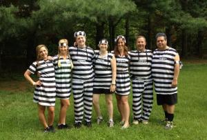 """Team Prison Break"" before getting dirty!"