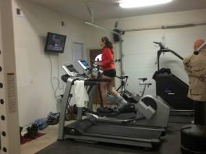 Getting my elliptical on!